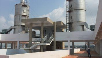Hệ thống xử lý khí thải Trung tâm phân tích thí nghiệm và văn phòng Viện dầu khí Việt Nam tại TP. Hồ Chí Minh