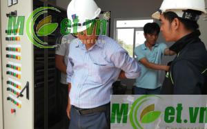 Hệ thống điện điều khiển Trạm XLNT Trung tâm phân tích thí nghiệm và văn phòng Viện dầu khí Việt Nam