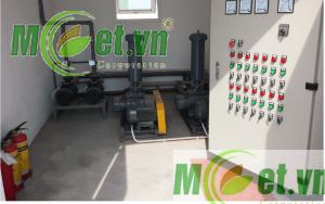 Hệ thống điện điều khiển Trạm XLNT Công ty TNHH Plummy Garment Việt Nam