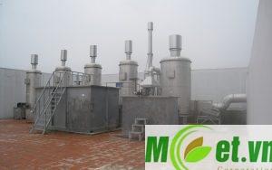Hệ thống xử lý khí thải Tòa nhà Viện Dầu Khí Việt Nam tại Hà Nội
