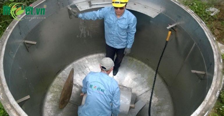 Chế tạo, lắp đặt thiết bị xử lý nước thải.