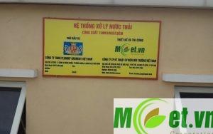 Hệ thống xử lý nước cấp cho sinh hoạt từ nước giếng khoan của công ty TNHH Plummy Garment Việt Nam tại Hưng Hà, Thái Bình