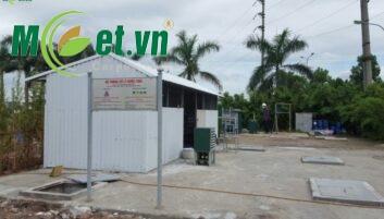 Hệ thống xử lý nước thải Cụm CN Khắc Niệm Bắc Ninh