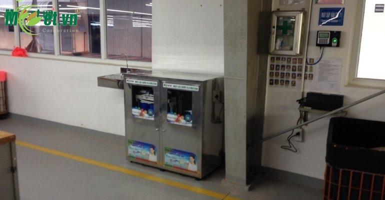 Hệ thống máy nước uống RO - Công ty May liên doanh Plummy