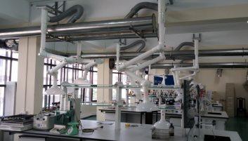 Chụp hút khí thải di động cho phòng thí nghiệm – Cục kiểm định Hải Quan  – Tổng Cục Hải Quan