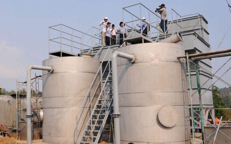 công trình nước sạch đưa nước về buôn